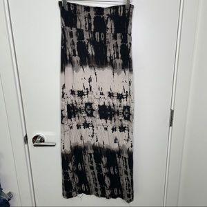 🎁4/20$🎁 acid tie dye maxi skirt